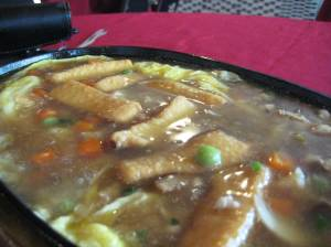Tofu in Sizzling Plate