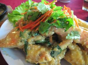 Crab in Salted Eggs Sauce